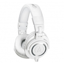 Audio Technica ATH-M50xWH Headphones (White)