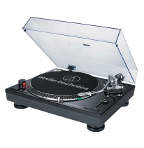Audio Technica AT-LP120-USBHC Turntable (Black)