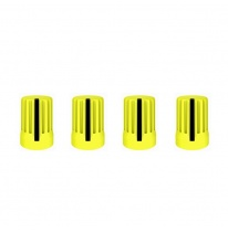 DJ Techtools 90° Knob Set (Yellow)