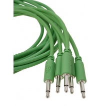 Erica Synths Eurorack Patch Cables 0.1m (5 pcs, Green)