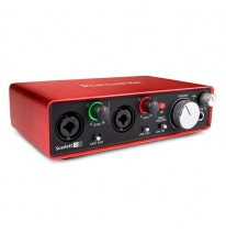 Focusrite Scarlett 2i2 2nd Gen USB Audio Interface