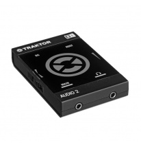 Native Instruments Traktor Audio 2 MK2 Compact DJ USB Audio Interface
