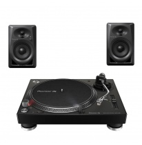 Pioneer PLX-500 + DM-40 Bundle