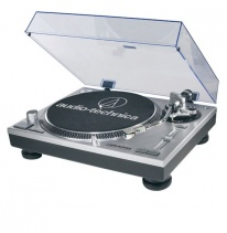 Audio Technica AT-LP120-USBHC Turntable (Silver)