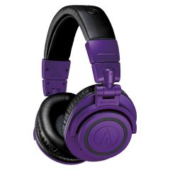 Audio Technica ATH-M50xBTPB (Bluetooth, Limited Edition - Purple Black)
