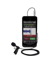Rode smartLav+ Lavalier Condenser Microphone (iOS / Android)