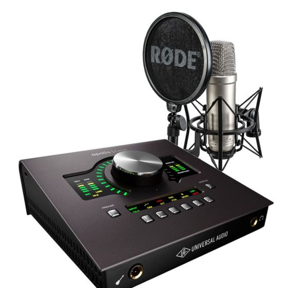 Rode NT1-A + Universal Audio Apollo Twin MK2 Solo Bundle