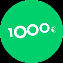 Gift Voucher 1000€