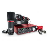 Focusrite Scarlett 2i2 Studio Pack 2nd Gen - USB Audio Interface, Microphone, Headphones, Cables