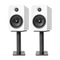 "Kanto 9"" Desktop Speaker Stands (Black, Pair)"