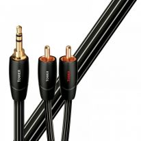 Audioquest Tower 3.5mm TRS - Dual RCA Cable 2m