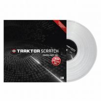 Native Instruments Traktor Scratch Control Vinyl MK2 (Clear)