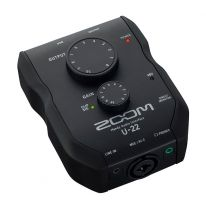 Zoom U-22 USB Audio Interface (iPad / Mac / PC)