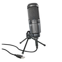 Audio Technica AT 2020 USB+ Studio Condenser Microphone