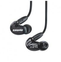 Shure SE215-BL Headphones (Black)