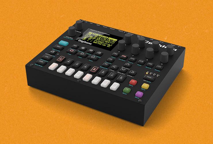 New: Elektron Digitone synthesizer