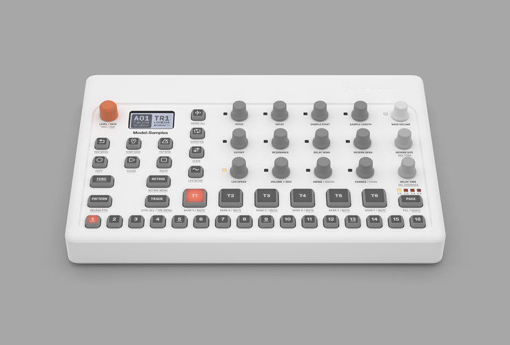 New: Elektron Model:Samples groovebox