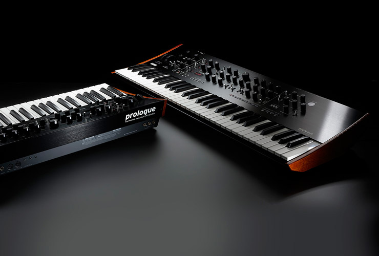 New: Korg Prologue synths and Volca Mix mixer