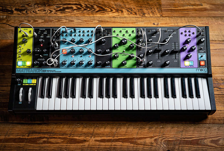 New: Moog Matriarch synthesizer