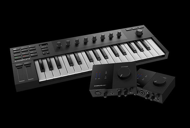 New: Native Instruments Kontrol M32, Komplete Audio 1/2, Traktor DJ 2 and Komplete Start