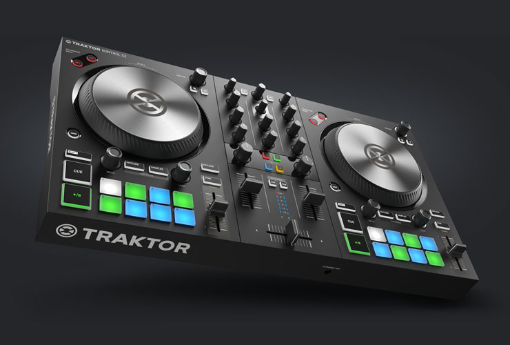 New: Native Instruments Traktor Kontrol S2 and S4 MK3 DJ controllers